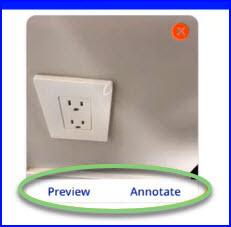 Preview annotate button-1